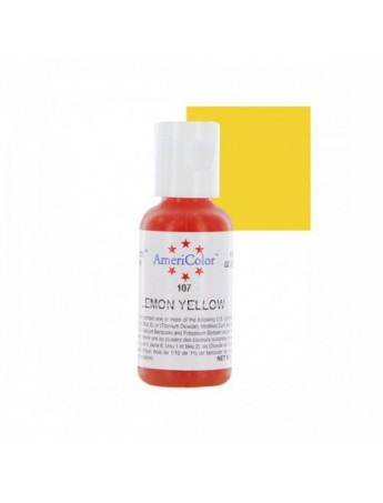 AmeriColor: Colorante SoftGel Paste LEMON YELLOW 21 grammi