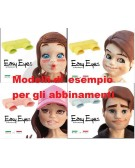 EASY EYES di Silvia Mancini - inside eye cutter - 4 type