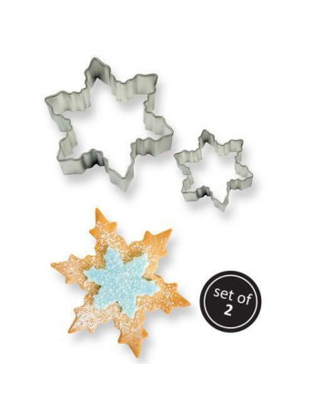 PME - Snowflake cookie cutter set