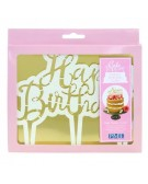 PME - Cutter cake topper happy birthday - script