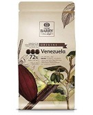 Cacao Barry - Dark Chocolate Couverture Venezuela 72% - 1Kg