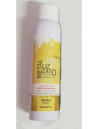 Il Punto Italiana - Colorante Spray Metallizzato Oro Reale - 150 ml