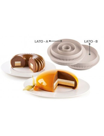 Silikomart - Multi inserto Round - Silicon mould for inserts 20.405.13.0065
