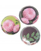 Baking cups muffin / cupcake Country Garden 60 pcs - PME BC908