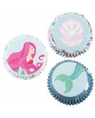 Baking cups muffin / cupcake Mermaids 60 pcs - PME BC905