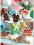 Mini Christmas cookie cutters - Decora 0255097