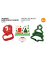 Christmas - Decora 2 cookie cutters - Christmas Tree and Boot 0255096