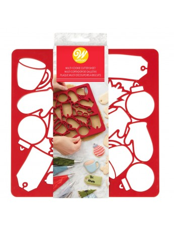 Multi cookie cutter Christmas - Wilton2304-0-0013