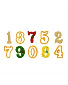Extra Large Numbers Cookie Cutters Set - Decora 0255098