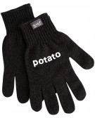 Skrub'a - Gloves for rubbing potato peel Simple, safe and healthy