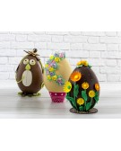 Fake chocolate egg for Easter decorations - Decora
