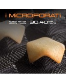 Martellato 2 micro-perforated molds and tartlets 30x40 - Square 6+6 cavity 85x85x20h