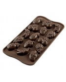 Easy Choc Silikomart Stampo cioccolatini  Choco Fruits SCG32