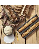 HOMEMADEBREAD - Baguette & Pain set per il pane fatto in casa De Buyer - 4713