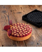 Pavoni: Stampo in silicone per top Scarlet -  Lampone TOP27
