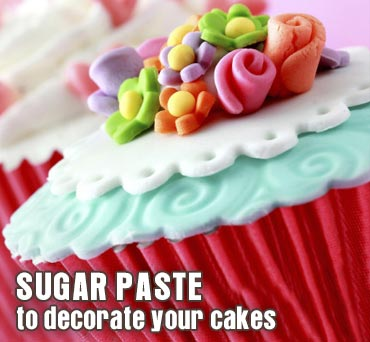 sugar modeling paste and modeling tools